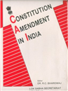 Constitution Amendment in India